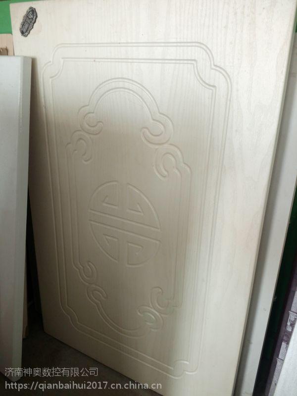 中华神工供应 移门吸塑门板生产线 三头电脑控制雕刻机