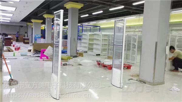 超市防盗工厂浅析声磁防盗门和射频防盗门之间的差距