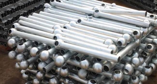 佛山工业安全栏杆定做 热镀锌球形立柱价格 广州钢格栅生产厂