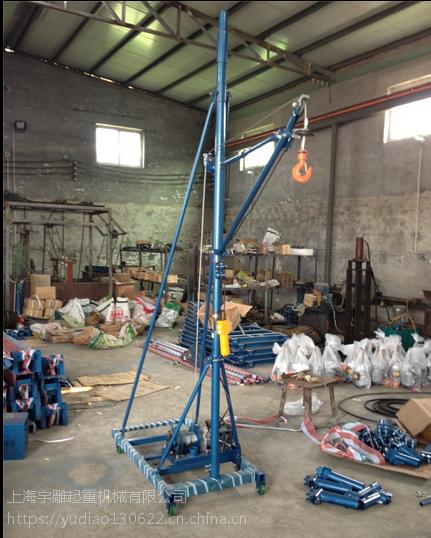 双柱100米室内吊机价格500公斤吊机厂家