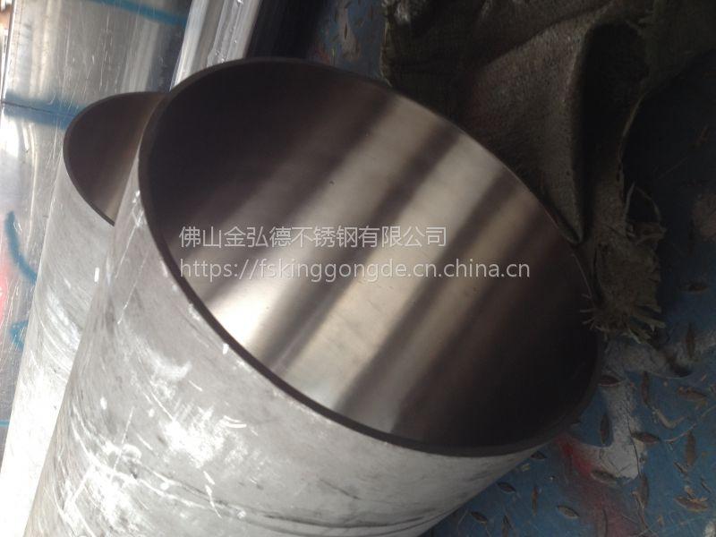 佛山钢厂现货不锈钢无缝大口管、工业流体运输专用管、316L无缝管