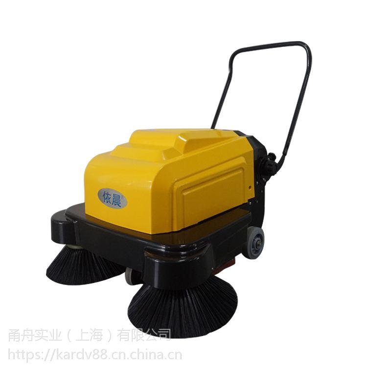 扫木屑用双刷式扫地机,依晨电瓶式扫地机YZ-10100