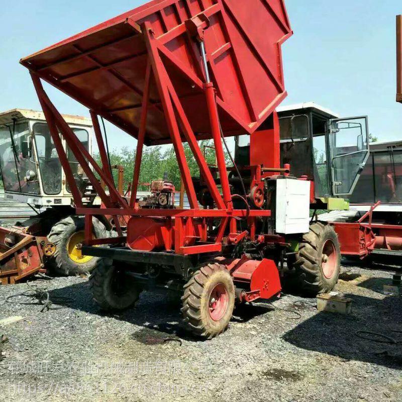 全自动玉米秸秆粉碎回收机 秸秆切碎收割机 家用小型铡草机