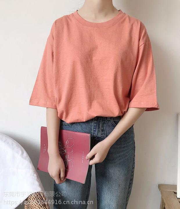 江西南昌厂家便宜清货女式T恤夏季女装上衣纯棉短袖T恤清货韩版女装清仓