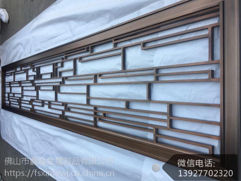 茂名承接艺术精美黄古铜铝板屏风的优越性在哪里?