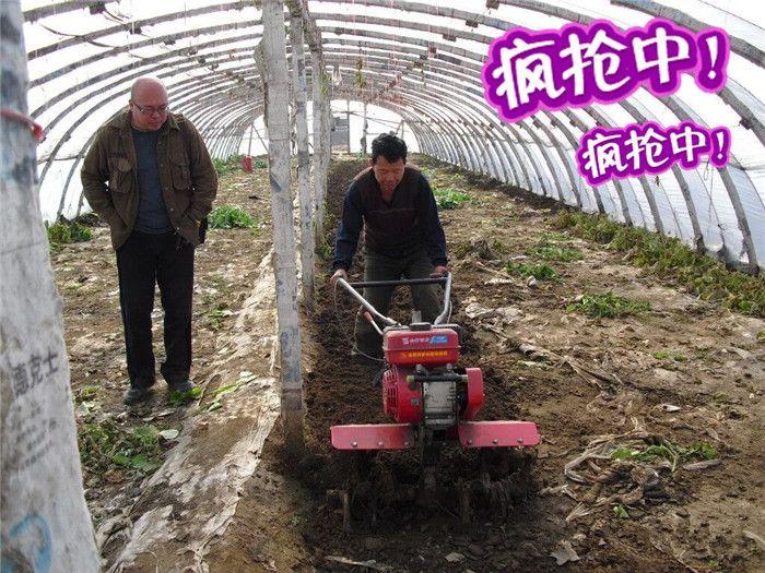 动力十足多功能农用管理机 柴油开沟培土机润丰
