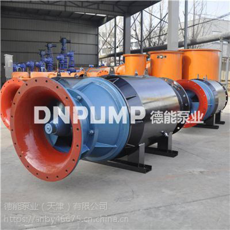 潜水轴流泵型号参数选型