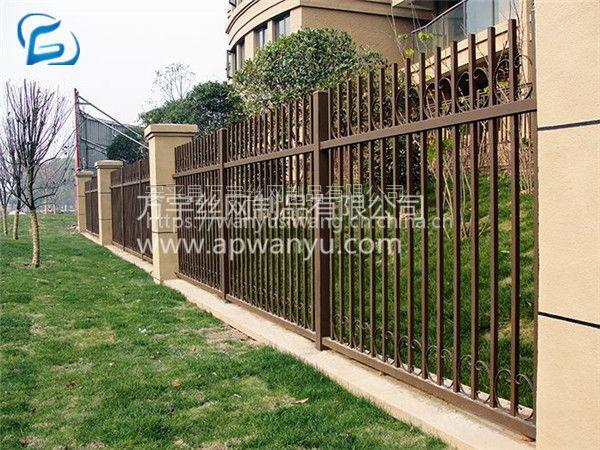 万宇网业 各样式锌钢市政护栏 小区围栏 围墙院围栏