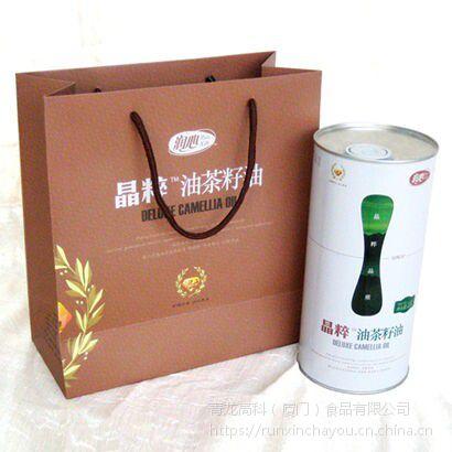 润心有机山茶油1.6L 纯正茶油 植物油 物理压榨 欧盟品质 月子油 婴儿油