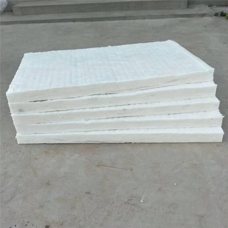 生产厂硅酸铝针刺毯 降噪硅酸铝甩丝毯