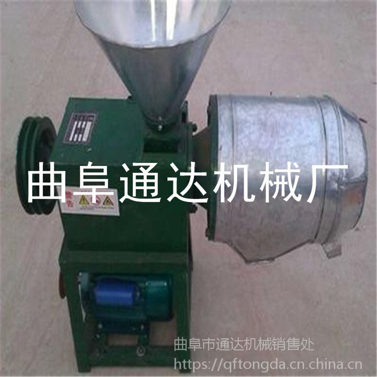 电动粮食磨面机 厂家直销 荞麦去皮磨面机 锥形面粉机 通达促销