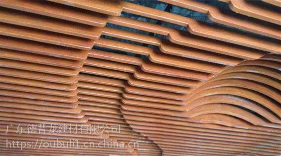 广东德普龙造型铝材质方通加工定制厂家报价