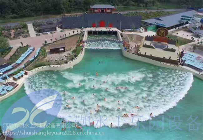 人工造浪池设计技术、气动海浪池设备、新潮游乐鼓风造浪机价格