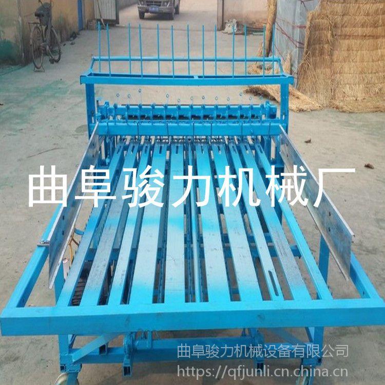 芦苇秸秆草帘机 热销稻草编织机 全自动草垫子机 骏力