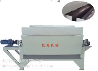 haisunCYG系列永磁高梯度磁选机采用调速器调整电机转速,拖动磁辊转动,通过振动给料盘振动给料