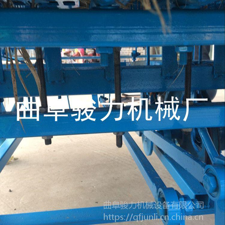批发 自动匀草编织机 干湿麦秸草帘机 结实耐用草垫机 骏力