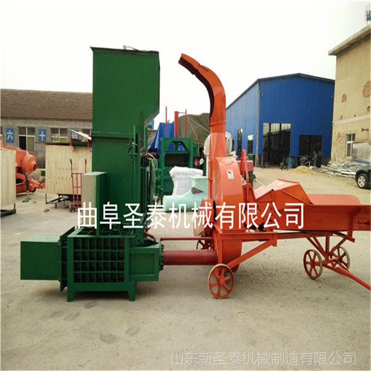 移动式全自动稻草打包机 青贮玉米秸秆液压打包机 牧草打方捆机