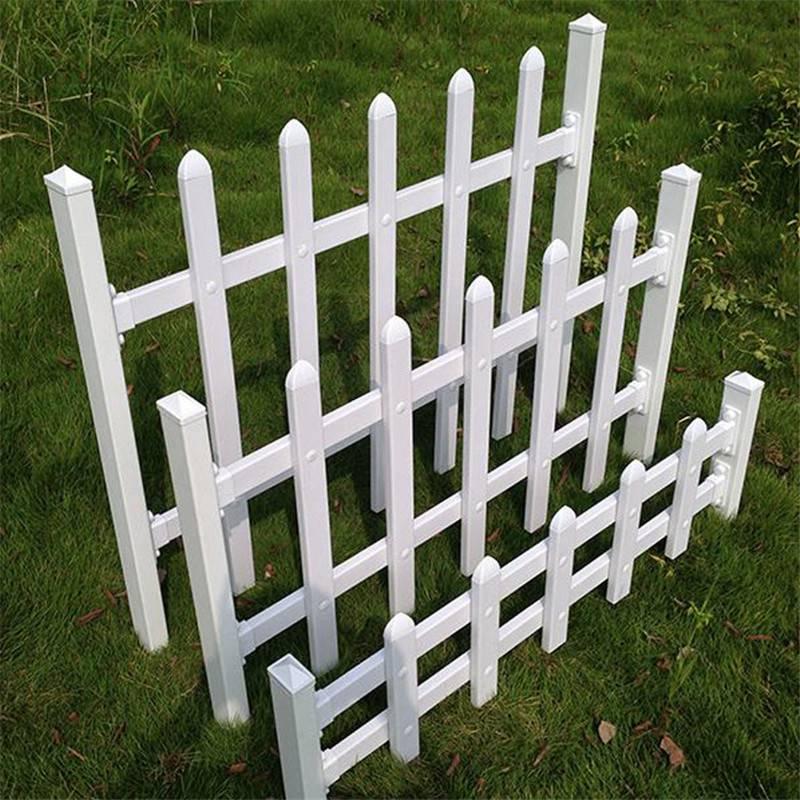 新农村草坪护栏 公园花坛草坪护栏 北京公园塑钢小栅栏