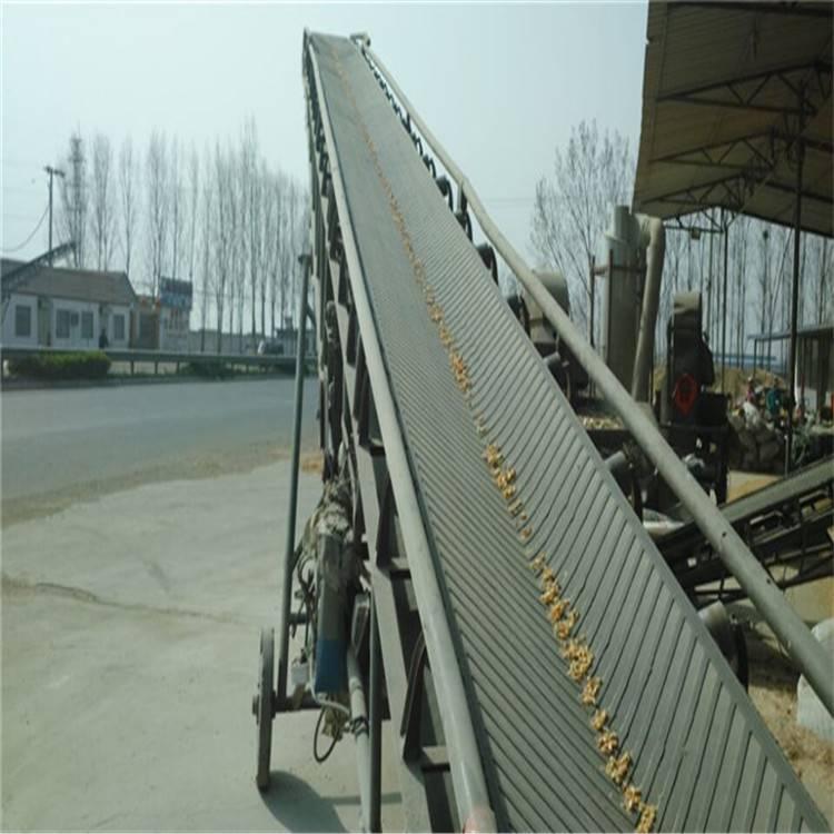 固定式带式输送机械 玉米粮食运输机润丰