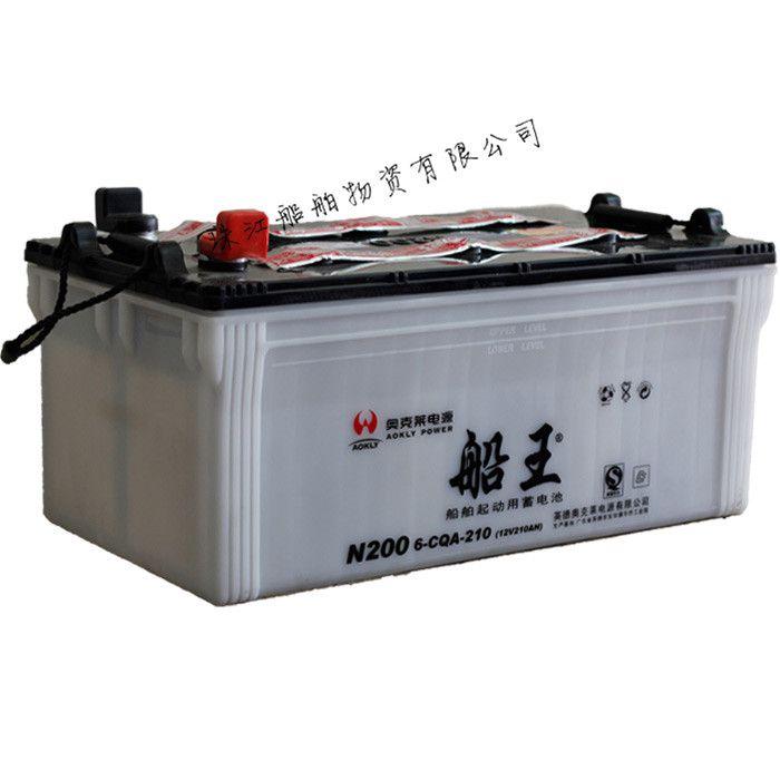 船王N200船舶柴油机组6-CQA-200干荷蓄电池船检证CCS厂家批发