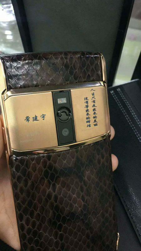 首款 5.6寸威图手机 8G+64G 双卡双待 vertu手机 4G 手机 蓝宝石原装屏 拾音手机