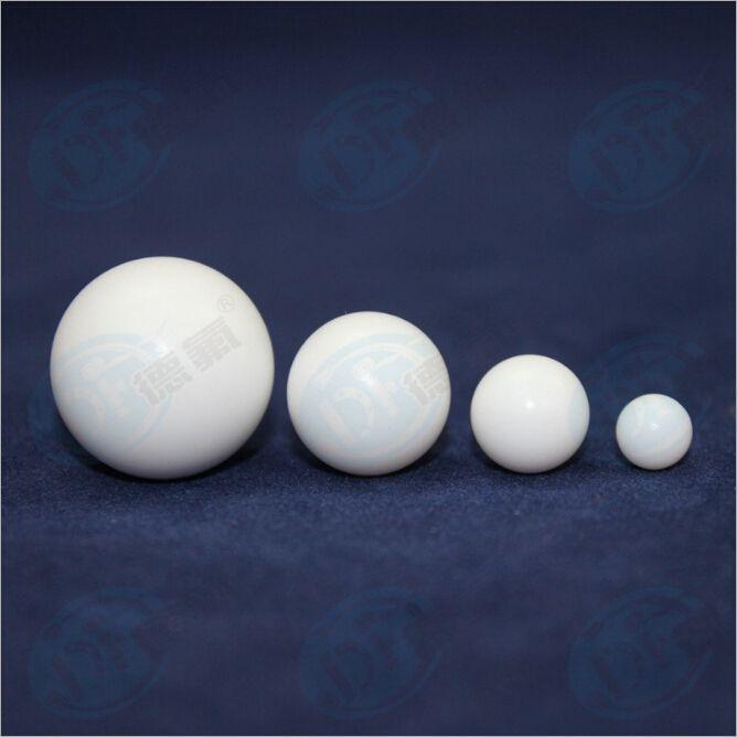 【百年德氟】泵专用耐腐蚀PTFE机械密封件 球形阀门 聚四氟乙烯实心球