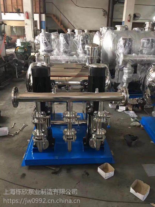 离心泵系列ISG50-100A变频恒压给水成套设备AB签