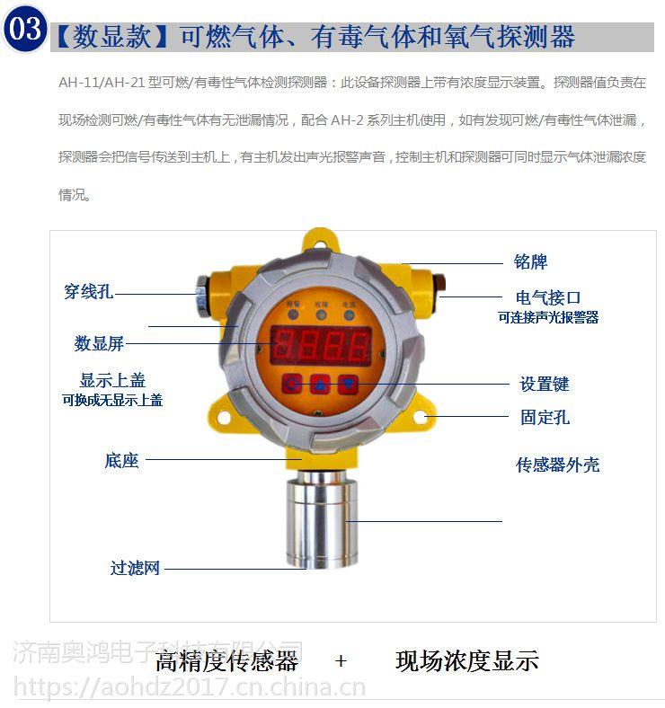 广东中山瓦斯报警器可燃气体探测器奥鸿科技