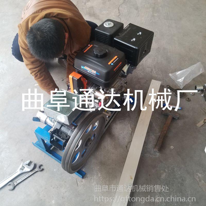厂家直供小型电动玉米膨化机 通达牌螺杆挤压糖棍机