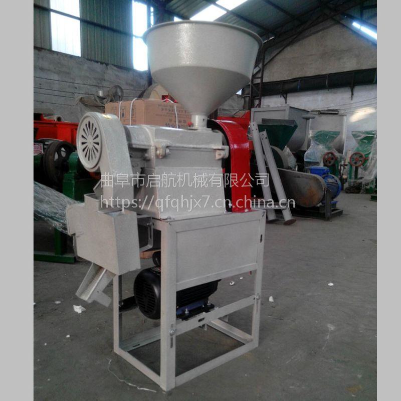 高粱小麦去皮机型号 启航水稻碾米机 小麦脱皮机厂家