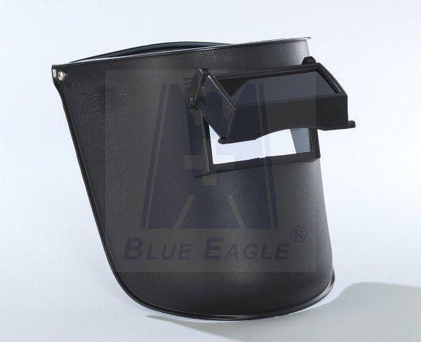 蓝鹰牌头戴电焊面罩 巴固焊帽 氩弧焊面罩 安全帽式面罩 翻盖式电焊图片