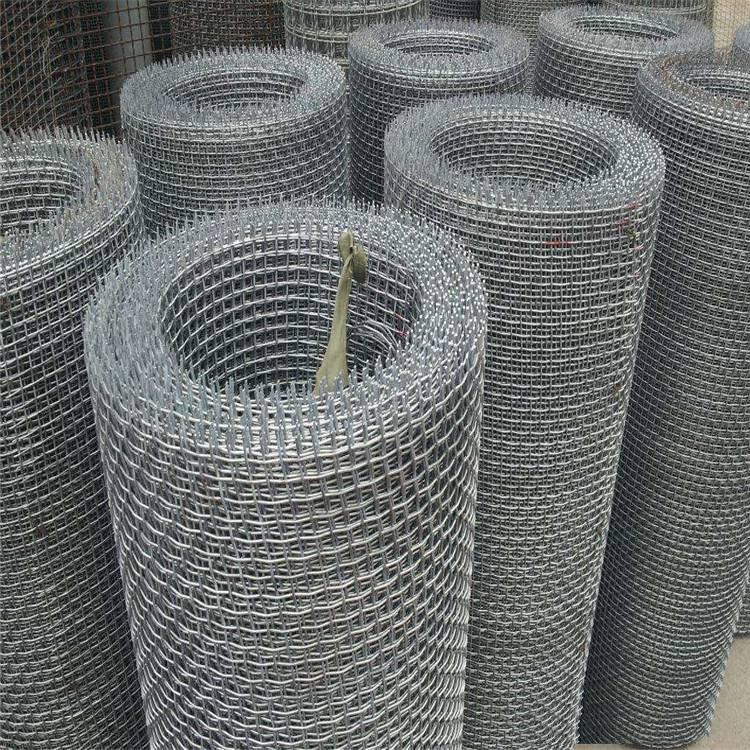镀锌钢丝轧花网 重型轧花网厂家 矿筛网计算公式