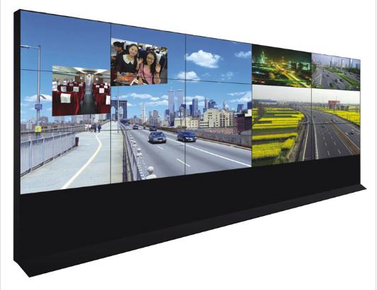 机场、港口、码头、商业、媒体广告、产品展示、地铁、公路等交通运输行业55英寸DID液晶拼接屏