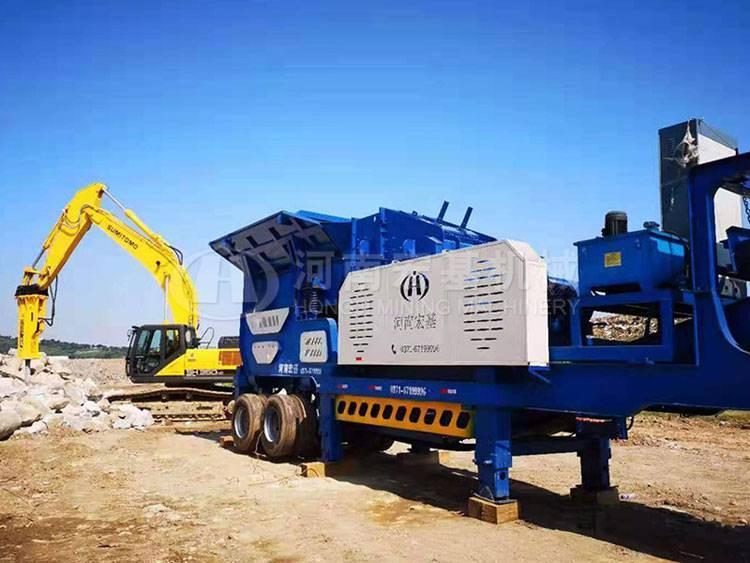 江苏旧城改造建筑垃圾处理设备的工艺及价格