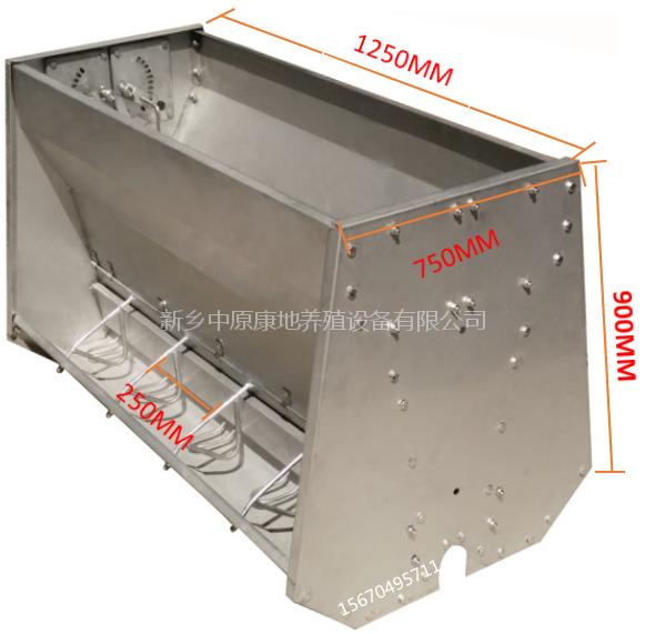 304双面不锈钢料槽规格齐全安装方便