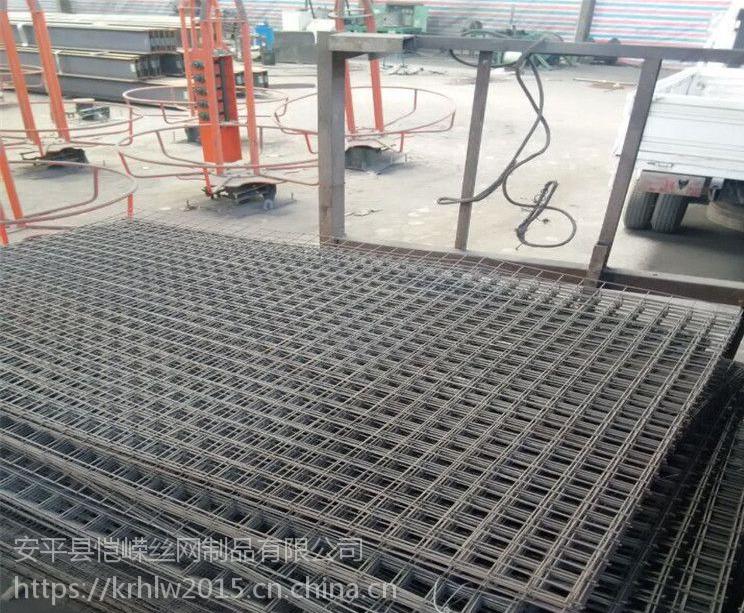 建筑用焊接钢筋网片 桥梁钢筋网片 修桥铺路钢筋网片批发