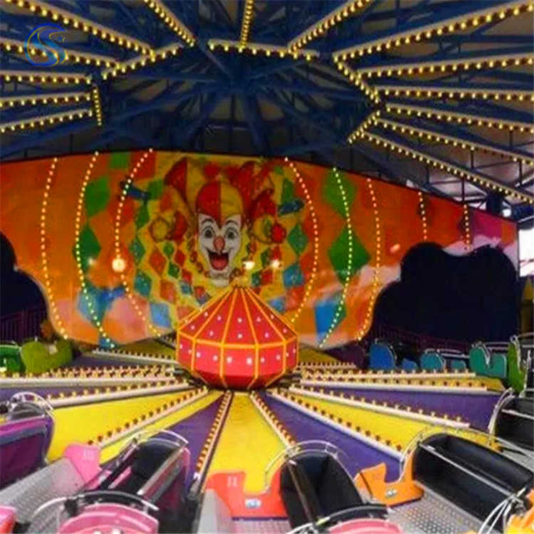 新型游乐设备雷霆节拍游乐场新品游艺设施三星厂家定制玩具