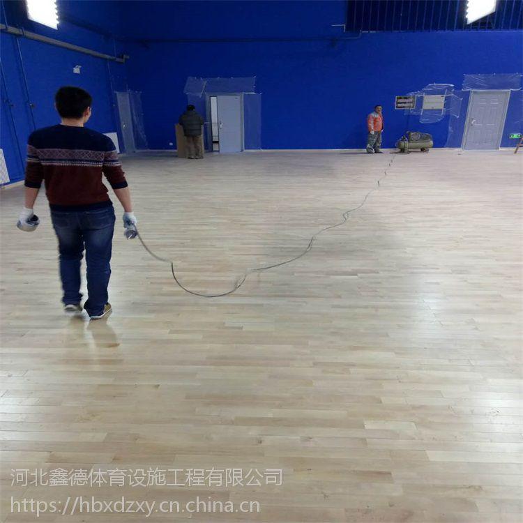 全国供应体育馆运动实木木地板厂家生产制造安装一条龙