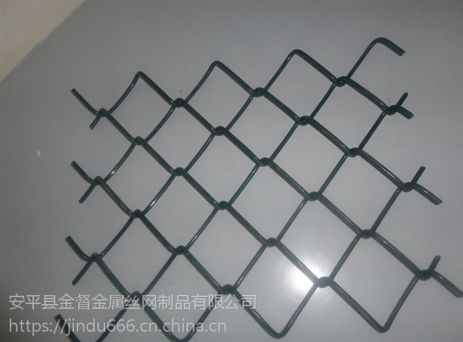 不锈钢勾花网 家禽养殖围栏网 塑面勾花网 体育场围栏网