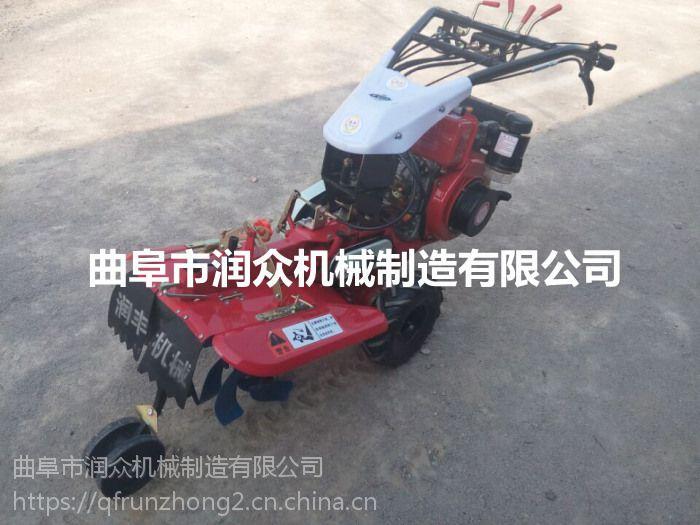 柴油动力电启动田园管理机 自己家用开沟培土机润众