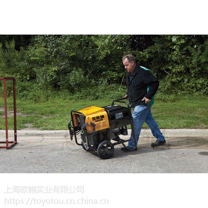 焊接施工用190a柴油发电电焊机意欧鲍