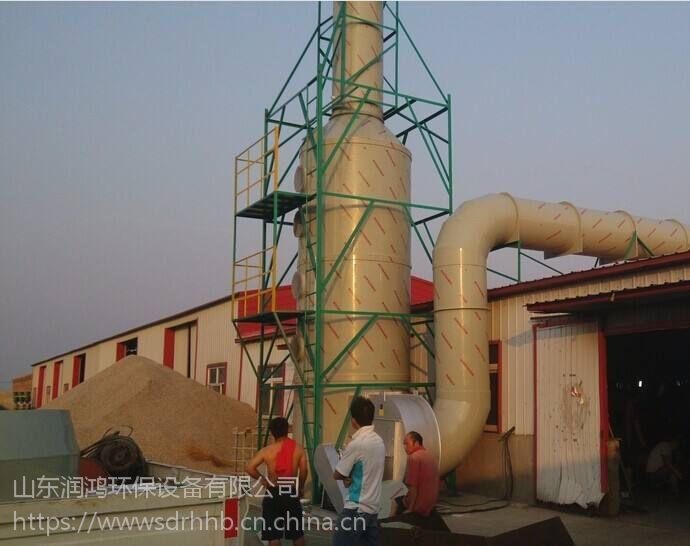 山东pp水洗塔 喷淋塔 脱硫塔 润鸿环保厂家直销 经久耐用