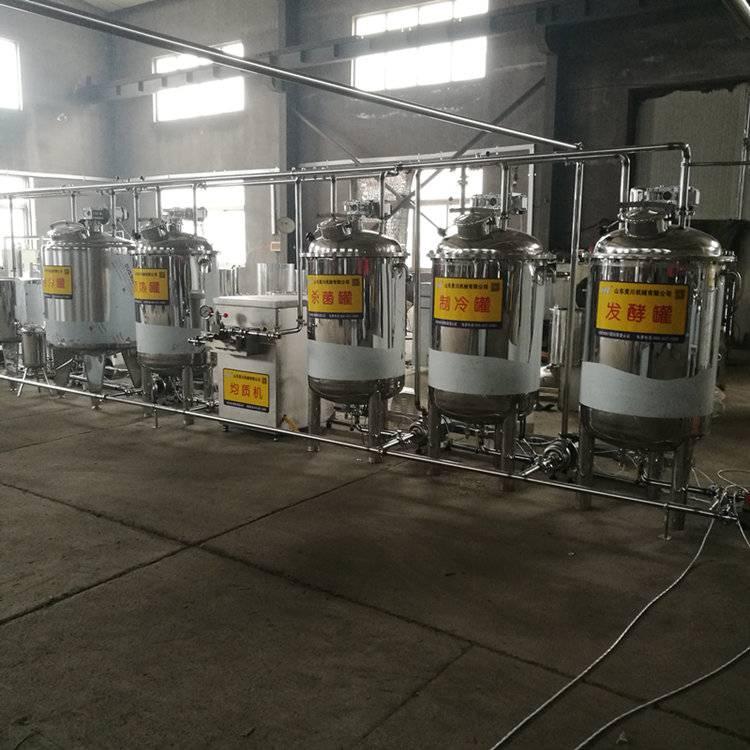 低温巴氏奶生产线