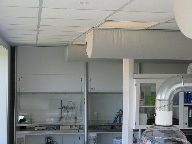 铠纶空调末端通风系统永久阻燃涤纶布袋风管
