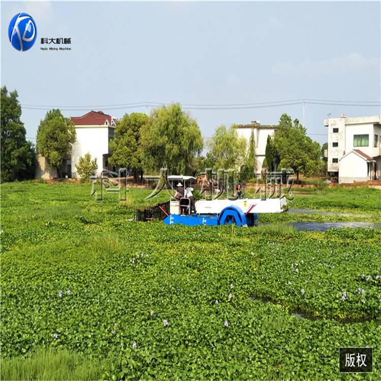 贵州全自动水葫芦打捞船 割草保洁船型号齐全