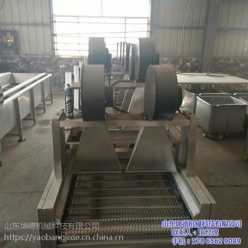 杭州榨菜洗袋风干线|山东坤德机械|榨菜洗袋风干线厂家