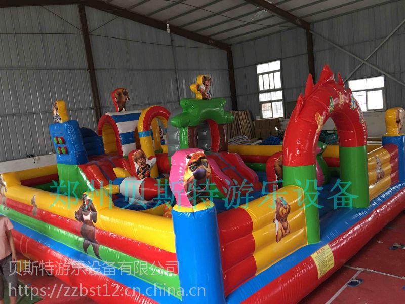 浙江杭州充气城堡贝斯特制造节能环保出货有保证