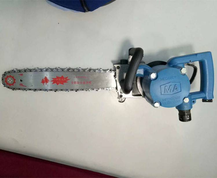 天德立FLJ-400风动链锯 煤矿用切木料木材链锯 防爆气动枕木锯