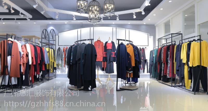 广州服装尾货批发市场舜牌女装18冬款品牌女装折扣批发
