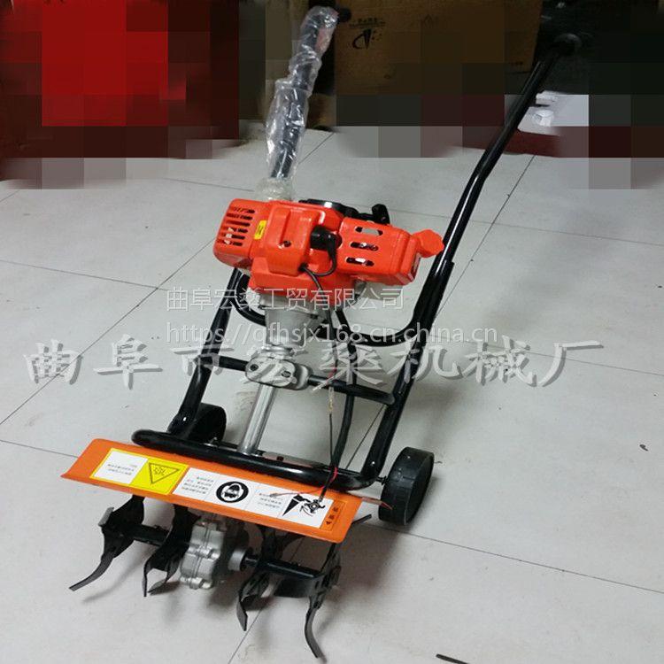 黑龙江农用松土机 果园耕土机 微耕机犁地机价格低